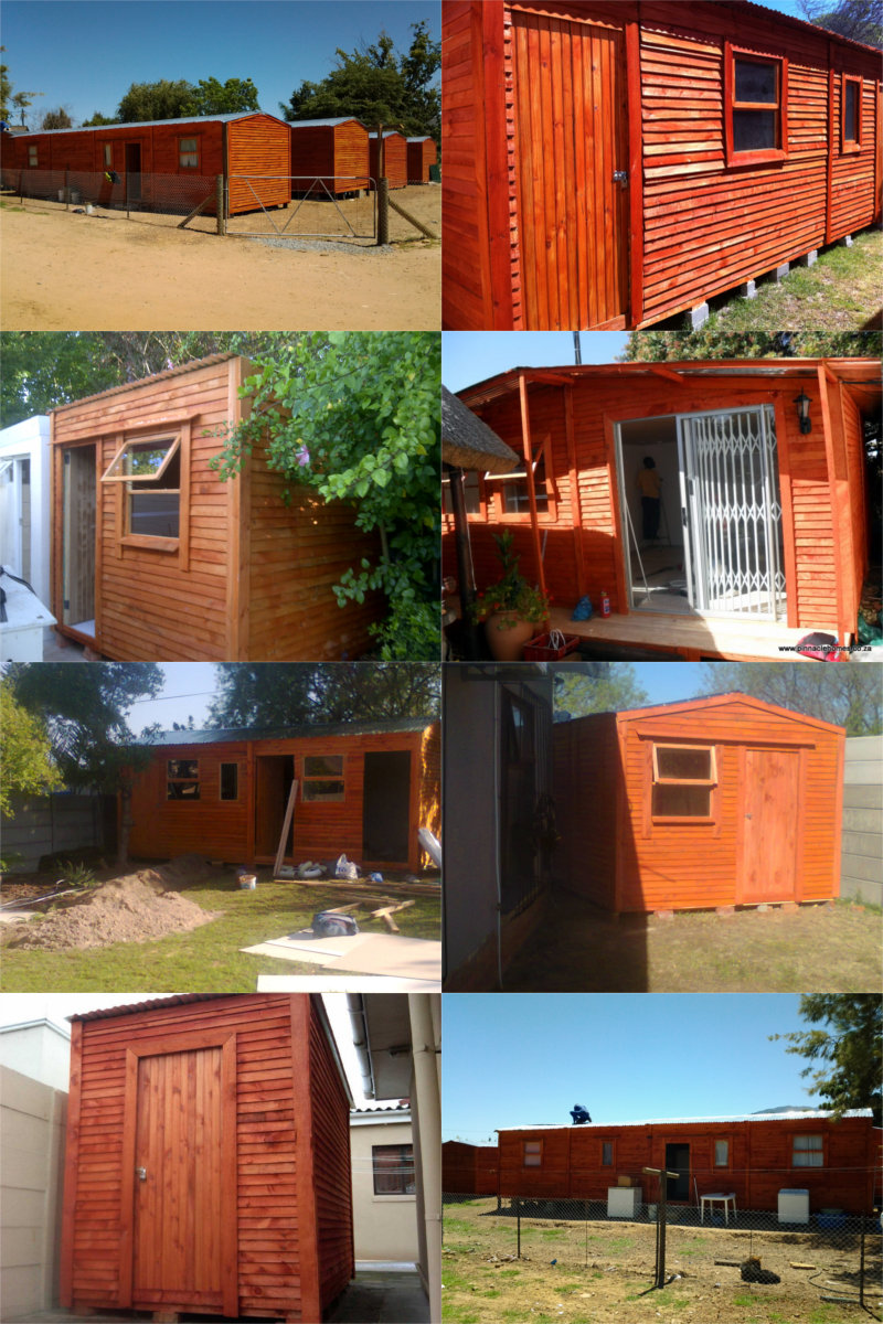a selection of our wendy houses
